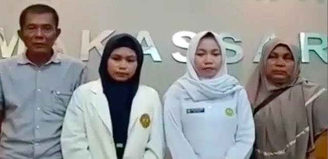 Anak Lecehkan TNI dan Polri, Orangtua Mahasiswi Stikes Amanah Nangis Minta Maaf