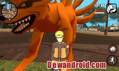 GTA SA Mod Naruto Apk Data