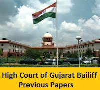 High Court of Gujarat Bailiff Previous Papers