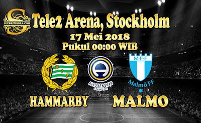 AGEN BOLA ONLINE TERBESAR - PREDIKSI SKOR ALLSVENSKAN SWEDIA HAMMARBY VS MALMO 17 MEI 2018