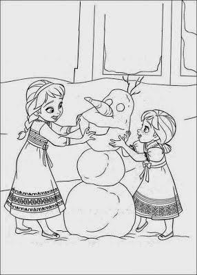 Maternar Para Sempre Desenhos Frozen Para Imprimir E Pintar
