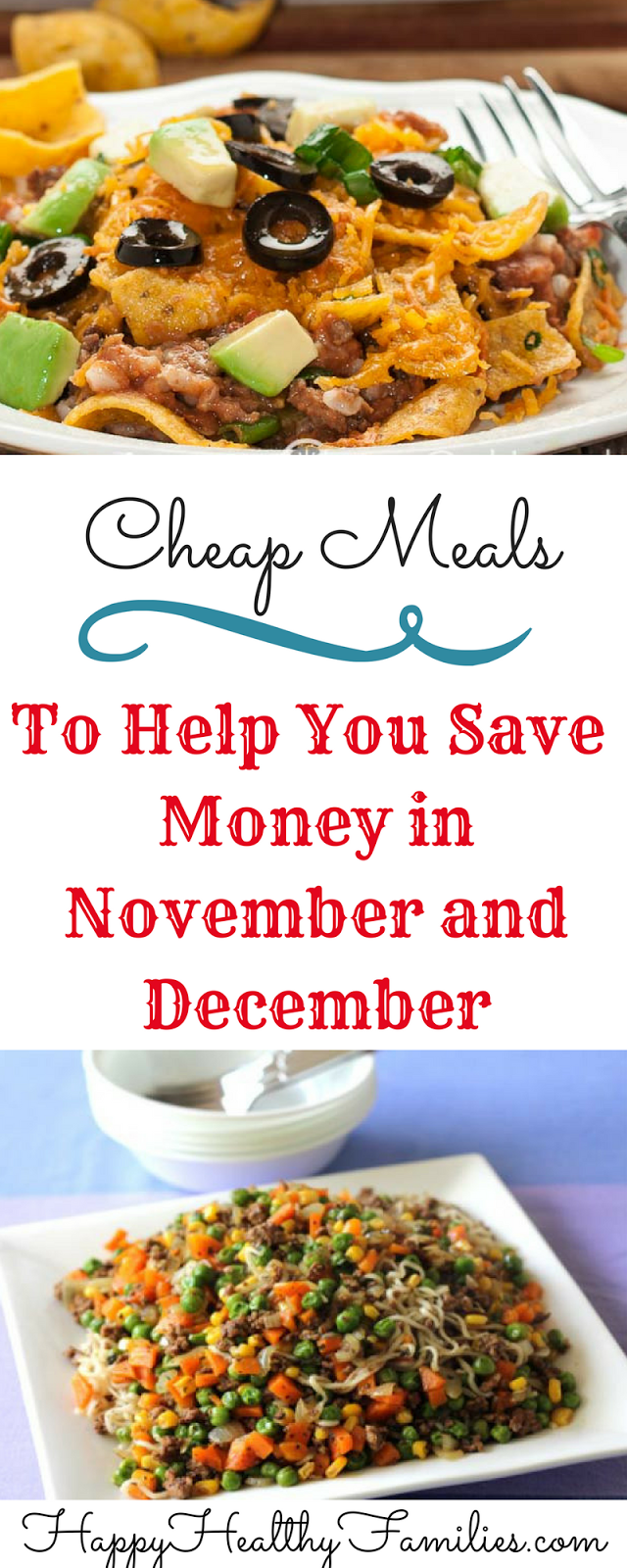 Happy Healthy Families 5 Easy Budget Friendly Dinners When You Have