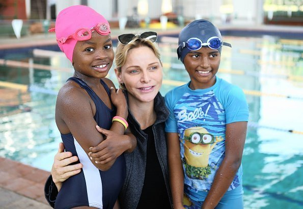 Princess Charlene trained at Lahee Park Swimming Pool for eight years under the guidance of internationally acclaimed swimming coach Graham Hill