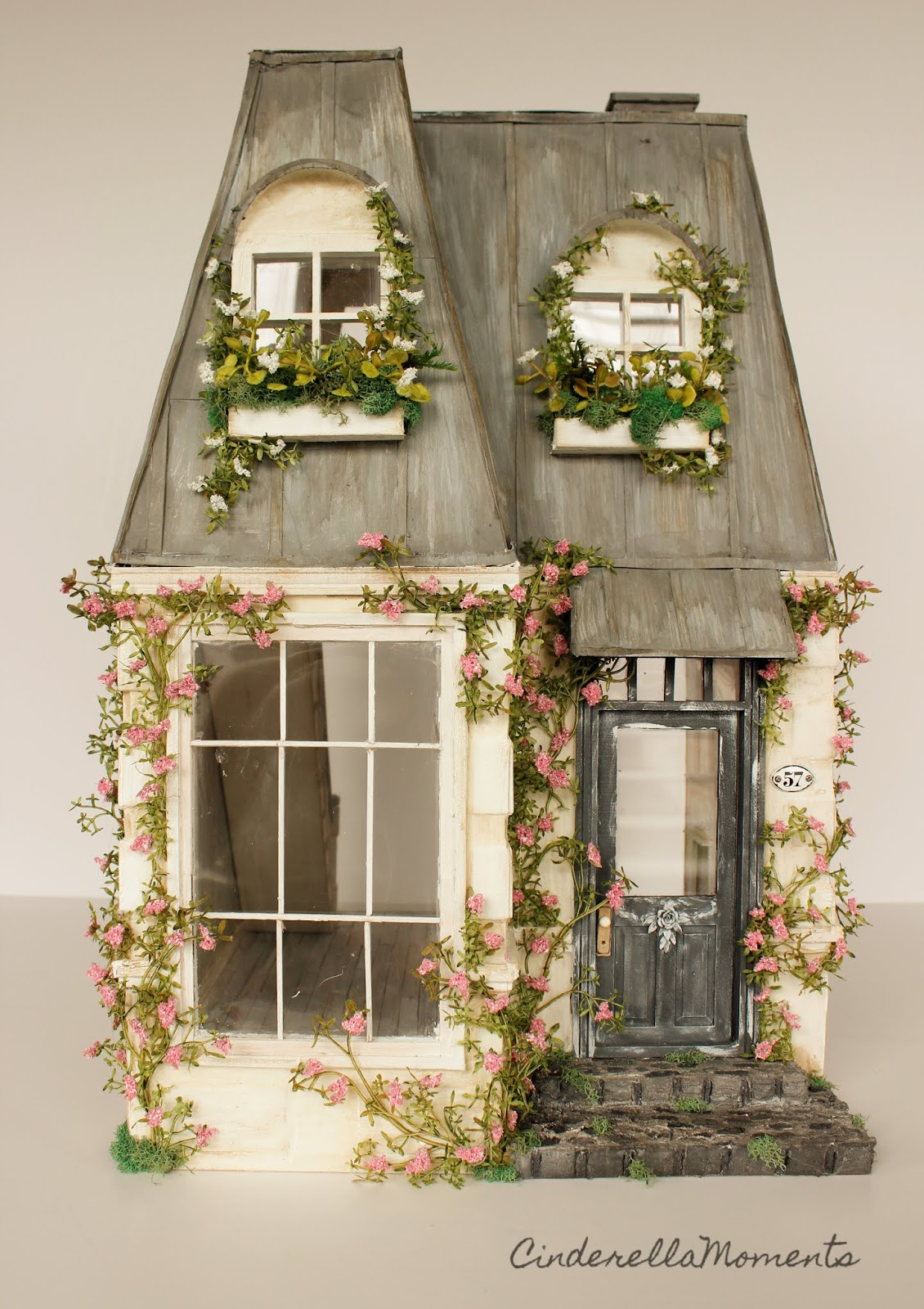 Cinderella Moments: Swan Lake House Custom Dollhouse on
