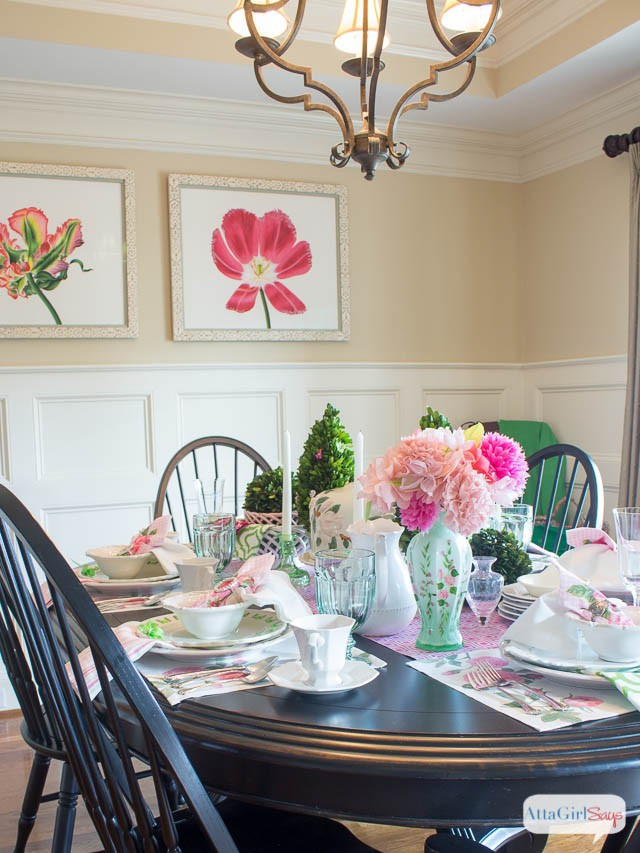 Atta Girl Says Dining Room- How I Found My Style Sundays- From My Front Porch To Yours