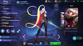 Hero Assassin Terbaru Mobile Legends, Lancelot Andalkan Passive Skill-Soul Cutter