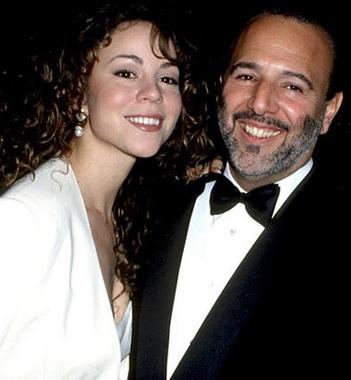 Foto de Mariah Carey feliz con ex pareja