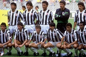 Contra Brasil en el Mundial Italia 90