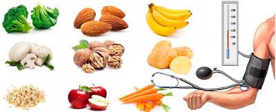 Alimentos permitidos hipertensión