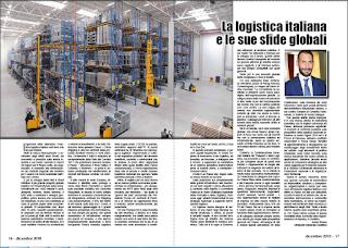 DICEMBRE 2018 PAG. 16 - La logistica italiana e le sue sfide globali