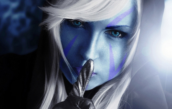 How To Talk like Drow Ranger in WarCraft III