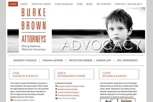 The best and worst law firm website designs for Best architecture firm websites