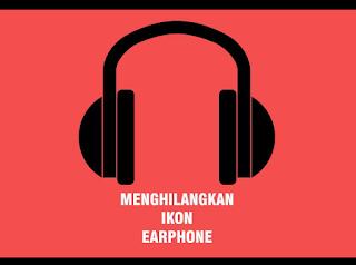 Cara menghilangakan lambang headset tidak mau hilang di hp android