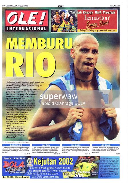 OLE! INTERNASIONAL: MEMBURU RIO