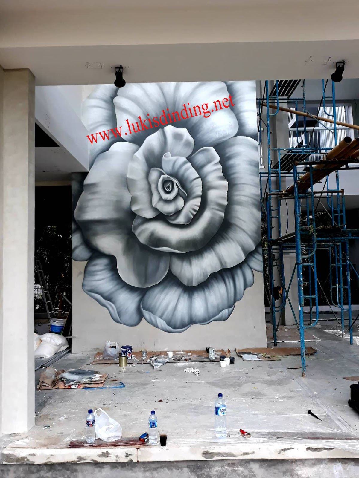 Lukis Dinding Lukis Dinding Bunga Lukis Dinding Bali Jasa