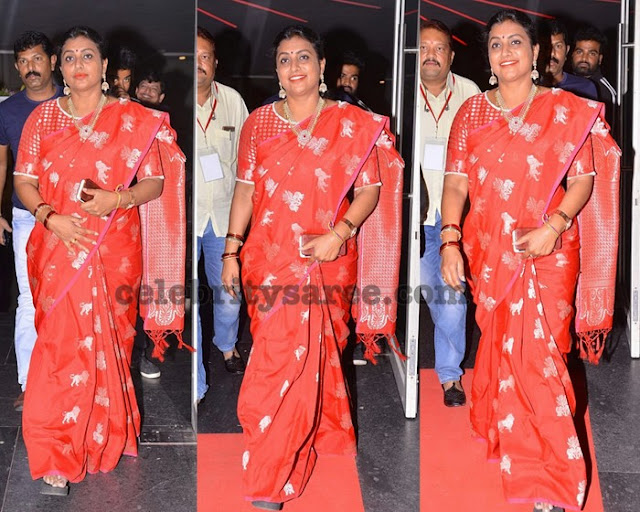 Roja at Shobhan Babu Awards