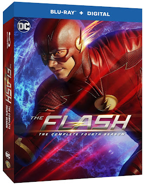 Flash season 4 Blu-ray box art