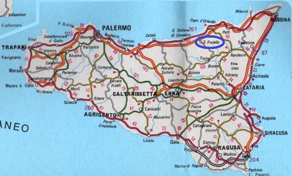Cartina Autostradale Sicilia.Come Si Raggiunge