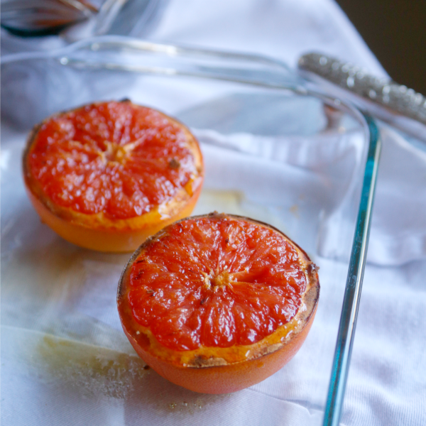Bruléed grapefruit is a super easy way to add some elegance to your lazy Sunday brunch.... or hectic Tuesday morning breakfast | Jordan's Onion