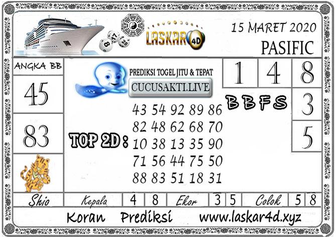 Prediksi Togel PASIFIC LASKAR4D 15 MARET 2020