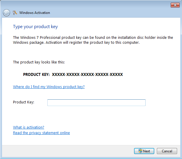 product key for windows 7 32 bit free