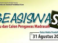 Beasiswa S2 Kementerian Agama Bagi Guru Madrasah Negeri dan Swasta 2017