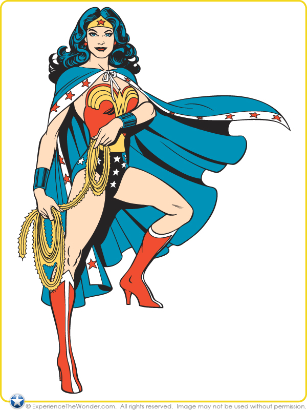 The Dork Review: Rob's Room: Wonder Woman - WB Consumer ...