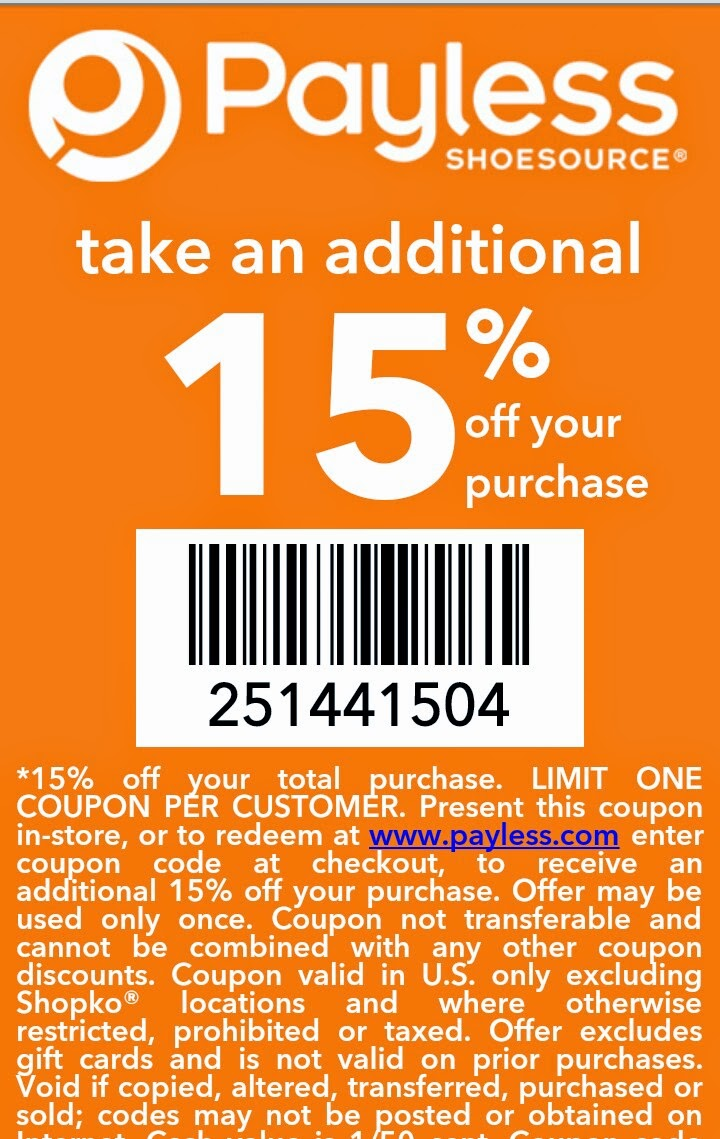 Payless Shoes Online Return Policy
