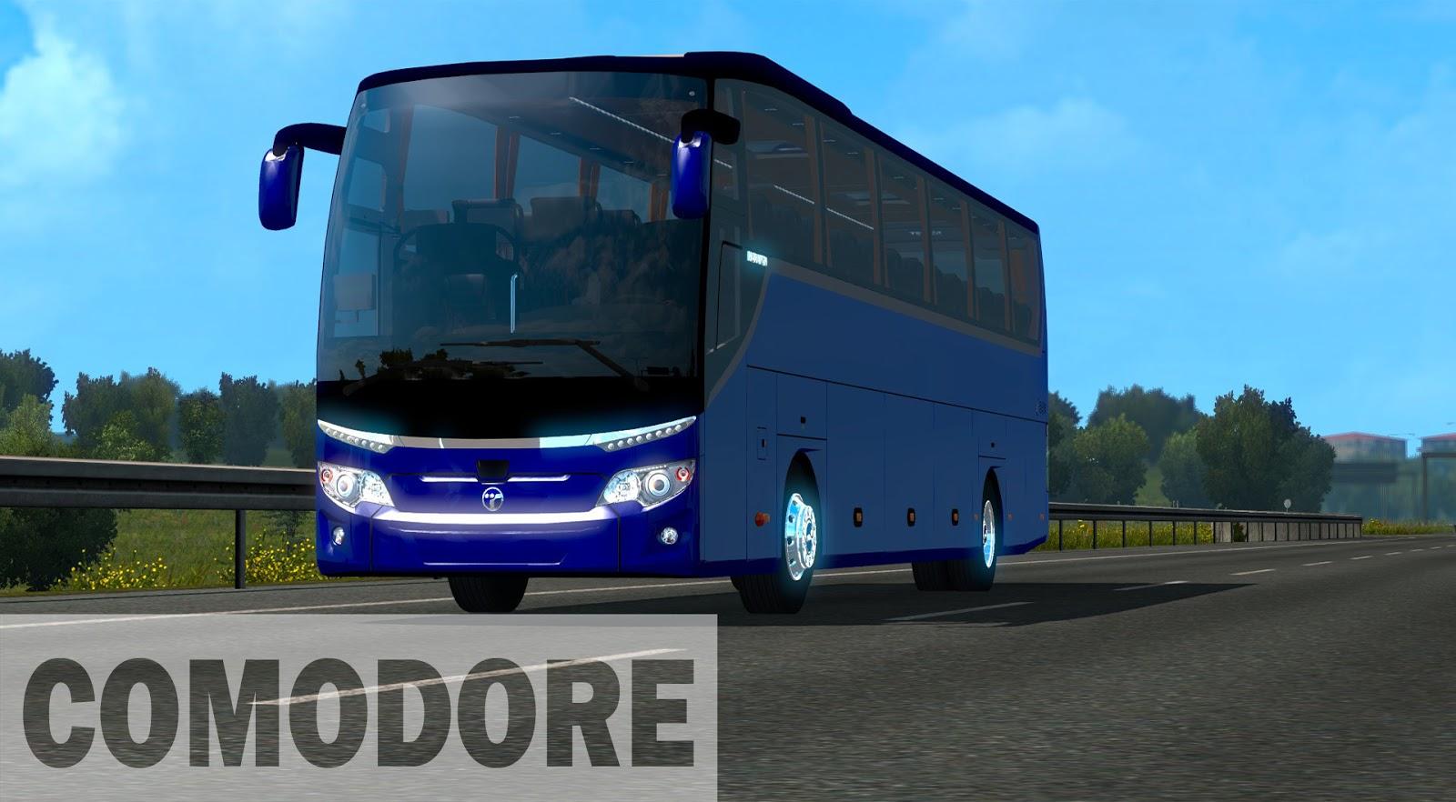 Euro Truck Simulator 2 Temsa Maraton 2018 Otobüs