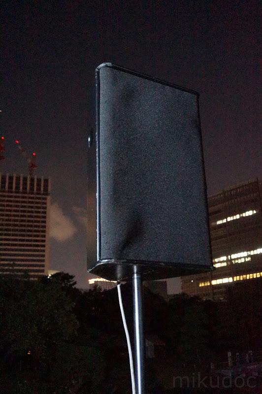 刻をあそぶ時空の旅 ~初音ミク Links Tokyo150~用スピーカー