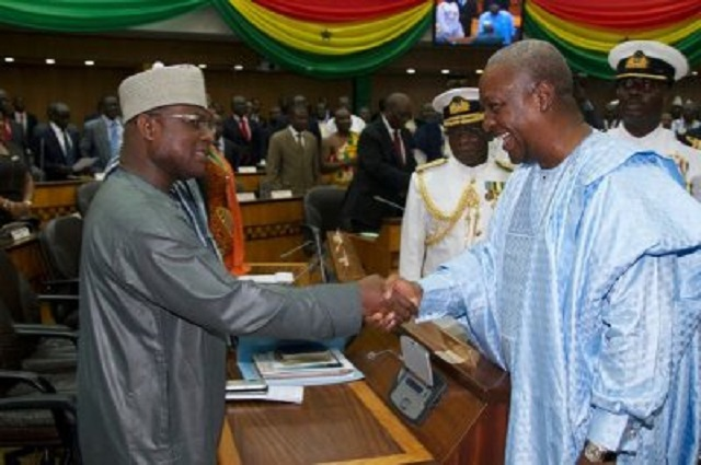 Minority didn't listen to 2016 budget – Mahama