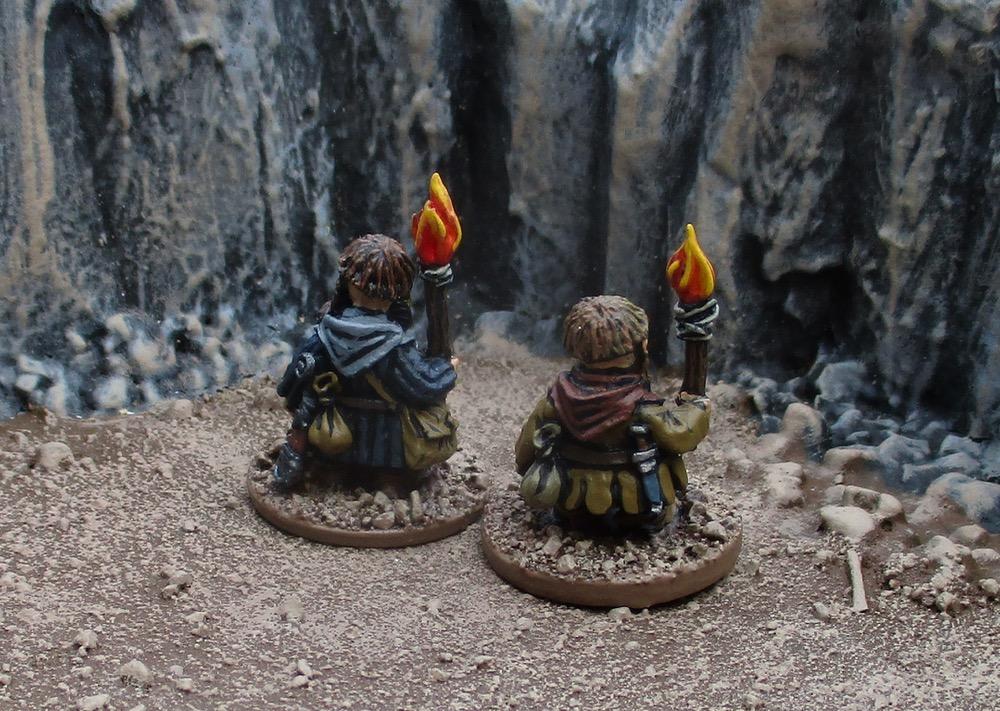 Tim's Miniature Wargaming Blog: Dwarven Torchbearers and Necromunda