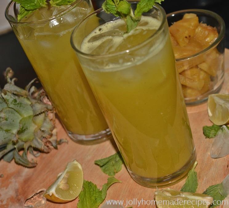 How to make Pineapple Agua Fresca