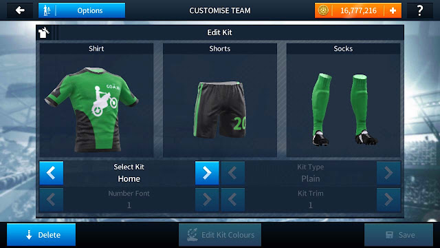 Kit Dream League Soccer Ojek Online Gojek