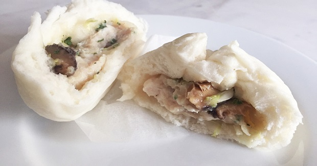 Steamed Chinese Style Chicken Buns Recipe - Yummy Recipes
