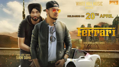 Ferrari Lyrics - Sukhi Sidhu, | Punjabi Songs 2017 | White Hill Music
