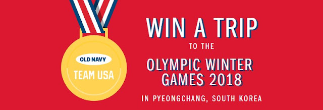 Team USA Old Navy Pyeongchang Sweepstakes