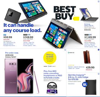 Best Buy Weekly Ad August 12 - 18, 2018