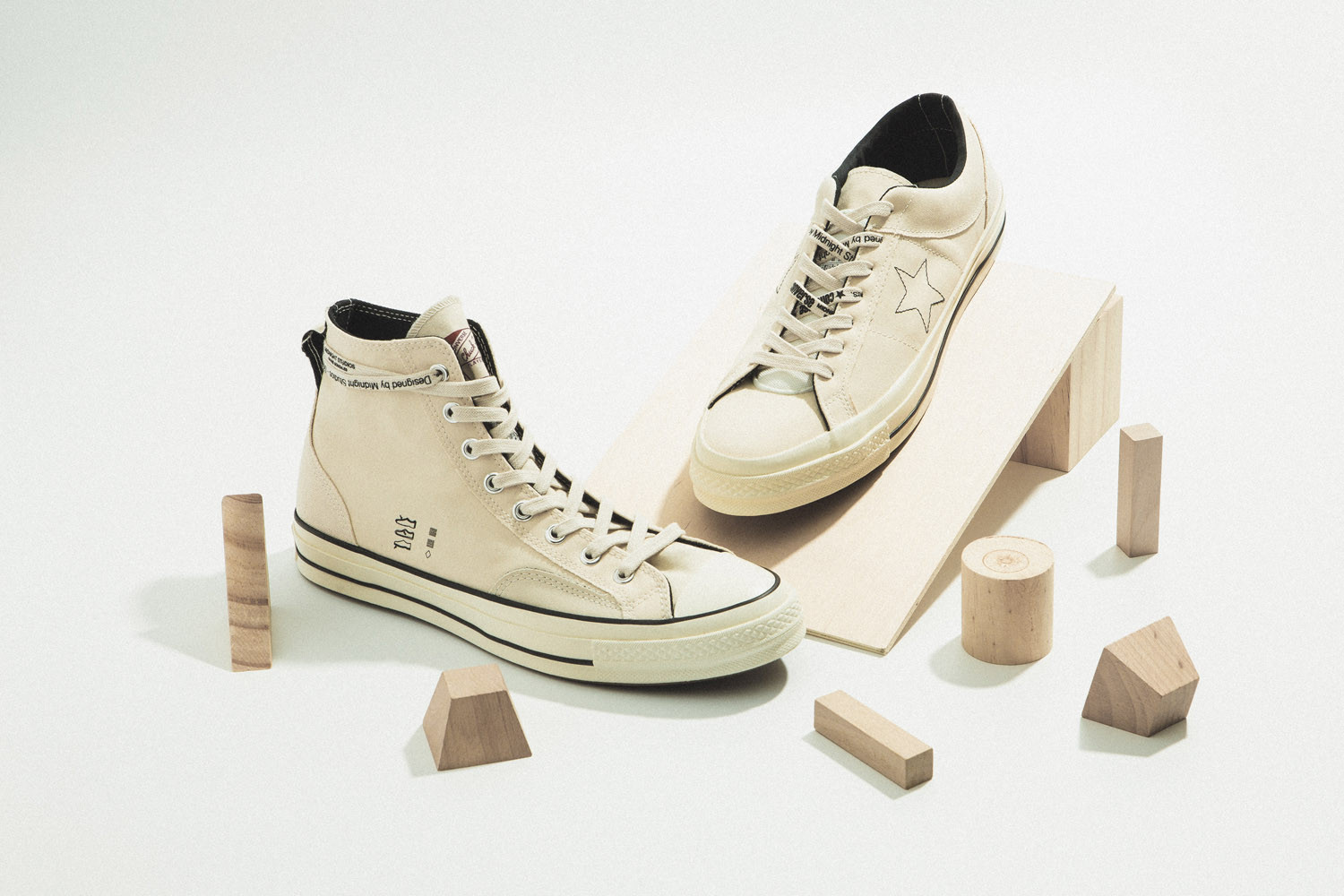 26a32314228f8e Midnight Studios s Inside-Out Converse Collaboration