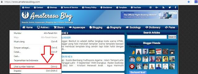 Artikel ini membahas tentang cara menonaktifkan Inspect Element (inspect element) pada sebuah blog berplatform blogspot. Dengan cara memasang anti Inspect Element.