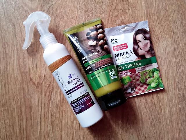 HAUL kosmetyczny - Lawendowa Szafa, kosmetyki rosyjskie, odżywki do włosów