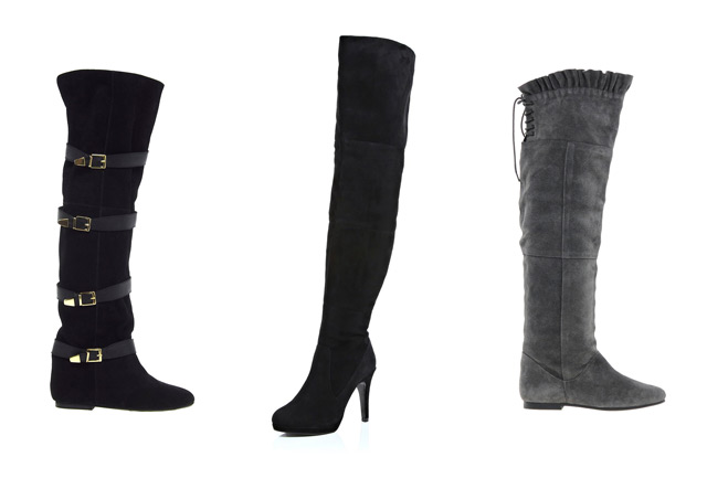 over the knee boots to rock your fall winter look