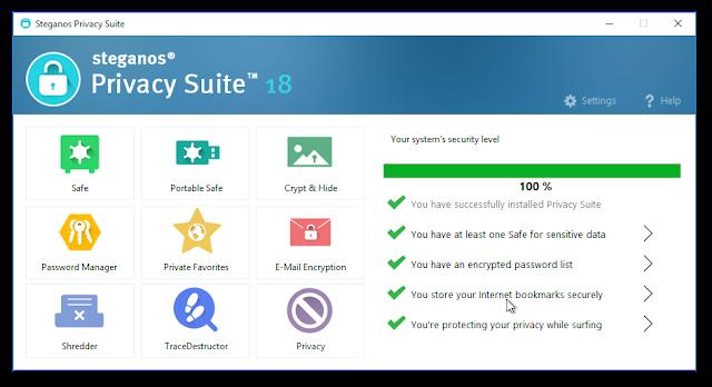 Steganos Privacy Suite 18 Serial