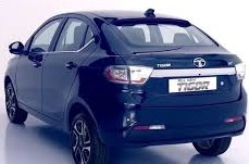 Upcoming Tata Tigor facelift spotted on test.