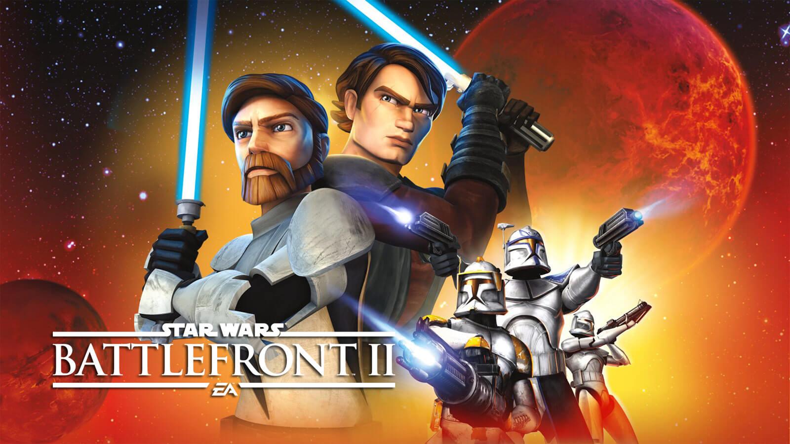 Star Wars Clone Wars Voice Cast Returns For Battlefront Ii Gameslaught