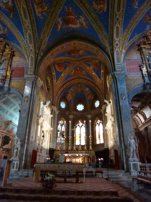 Altar de Basílica de Santa Maria Sopra Minerva