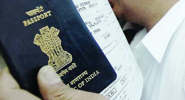NOW INDIANS SHOULD SUBMIT APPLICATIONS ONLINE FOR PASSPORT SERVICES