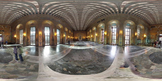 360 photosphere of the Golden Hall at Stockholm City Hall
