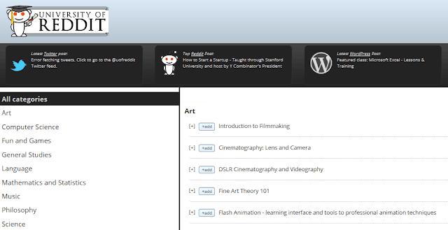 University of Reddit