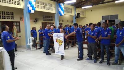 O Grupo do terço dos Homens da comunidade de Nossa Senhora da conceição celebra 8 oitavo ano de existência